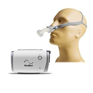 New ResMed AirMini AutoSet with P10 Nasal Pillow System