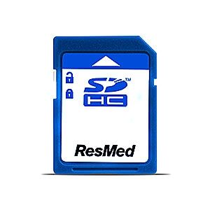 New SD Memory Card for ResMed series 10 and 9 machines